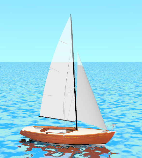 Classic 6.50 Sport version, for daysailing and racing…