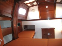 Interior of the Classic 6.50 Cabin, for family cruising…